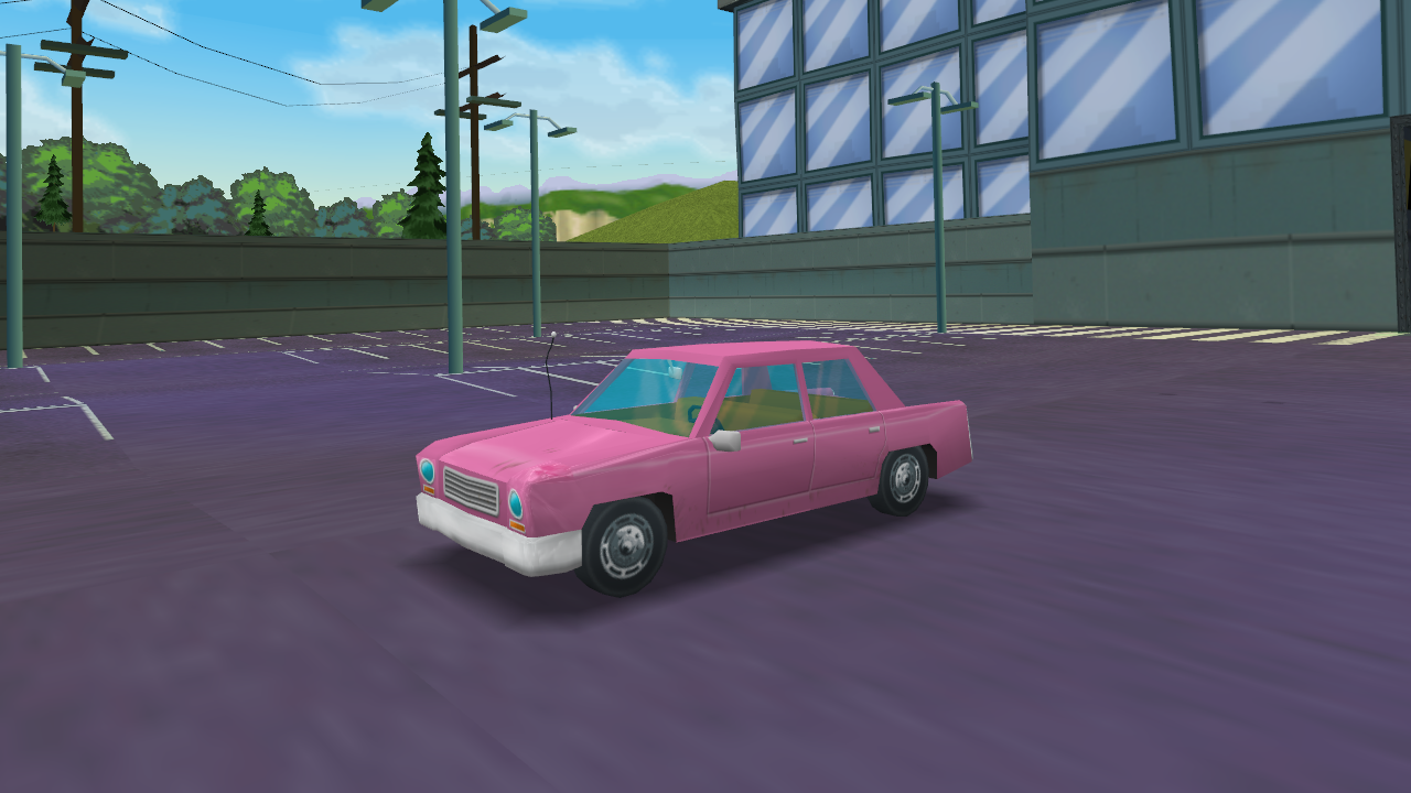 the car ingame