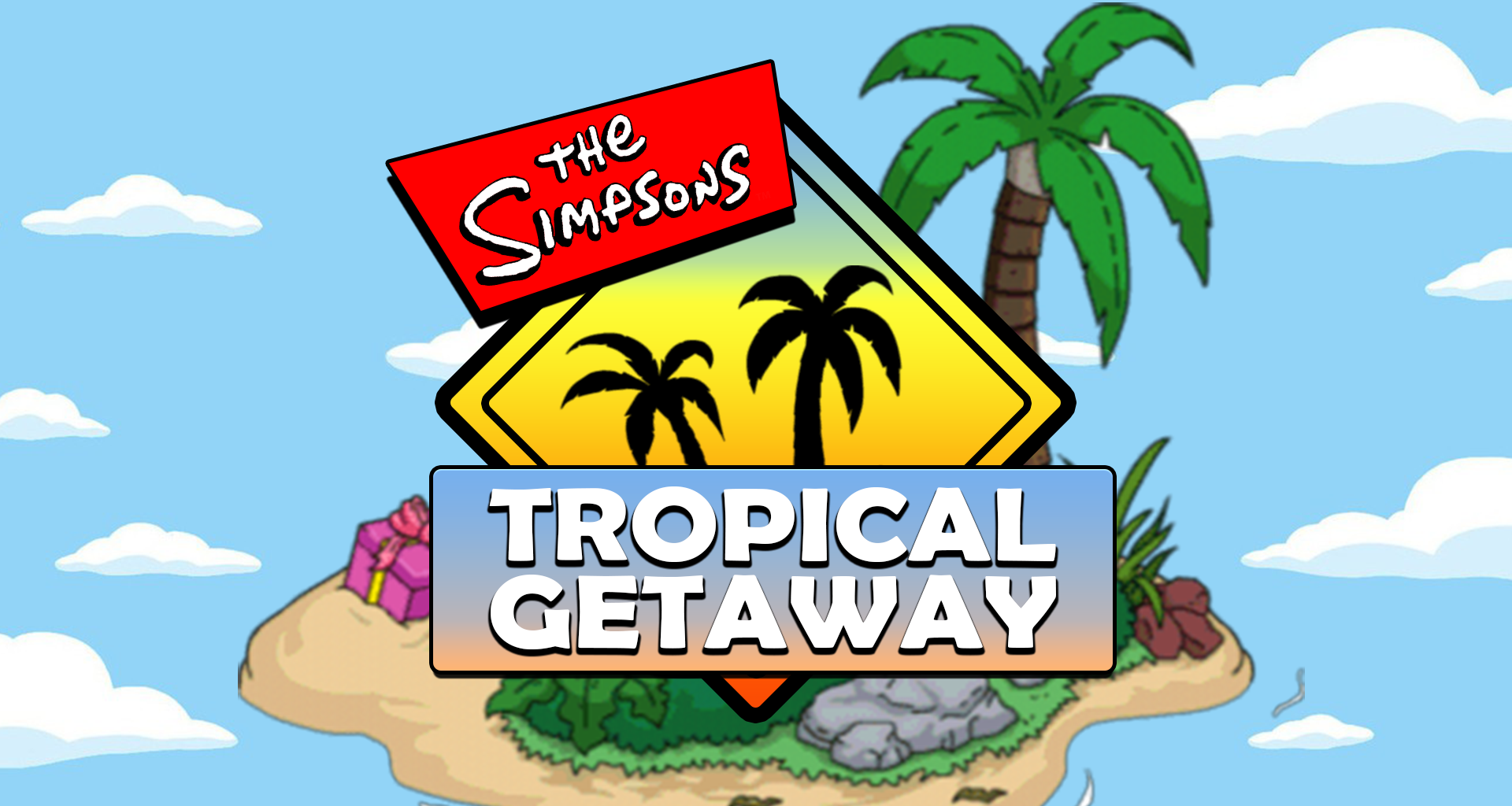 The official image for the Tropical Getaway Mod Jam!