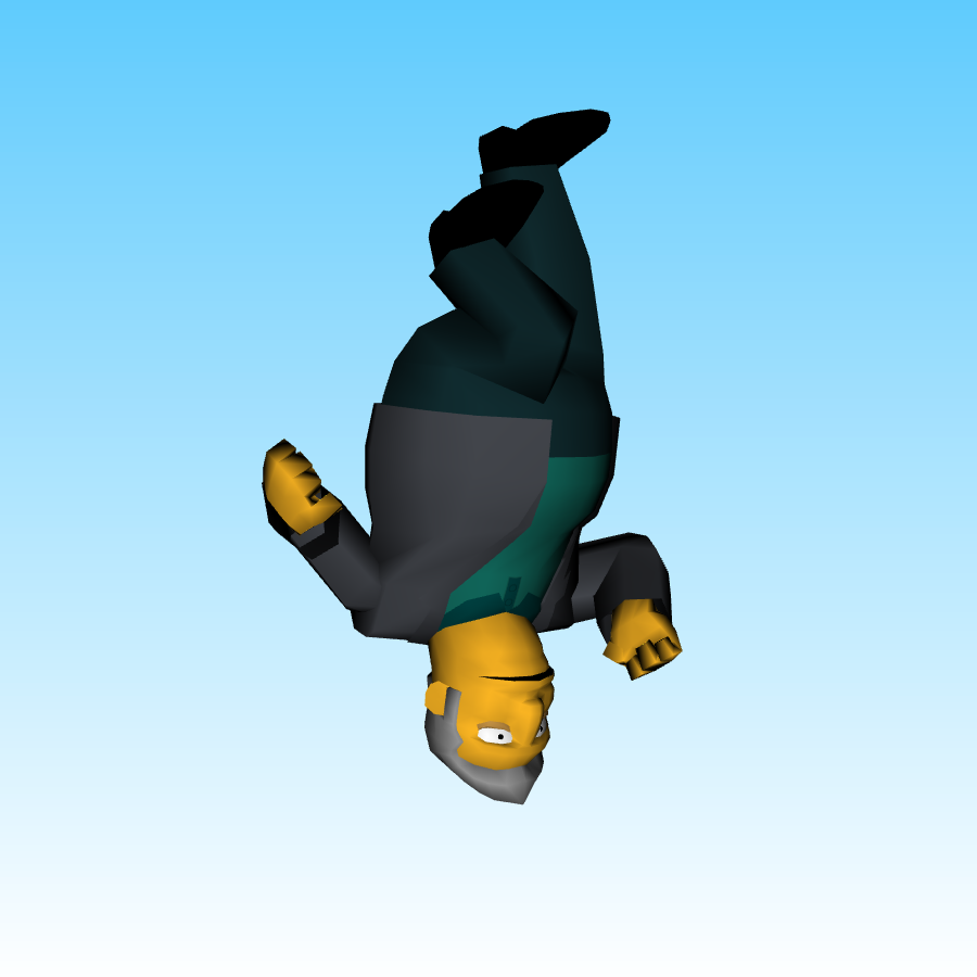 Fat Tony but he's just upside-down!