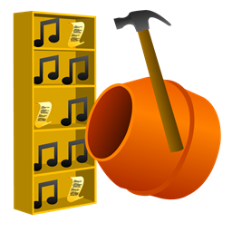 Lucas' Radcore Cement Library Builder icon